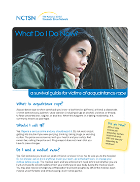 What Do I Do Now? A Survival Guide for Victims of Acquaintance Rape