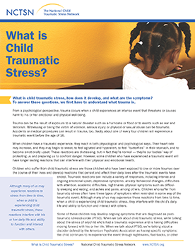 Families And Caregivers The National Child Traumatic Stress Network